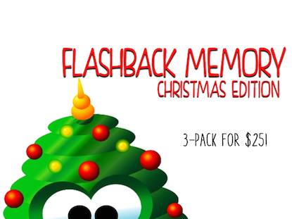 FLASHBACK MEMORY CHRISTMAS 3 PACK