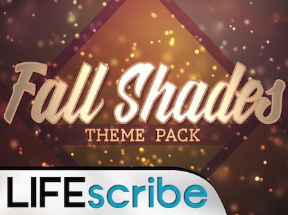 FALL SHADES THEME PACK