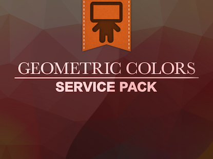 GEOMETRIC COLORS SERVICE PACK