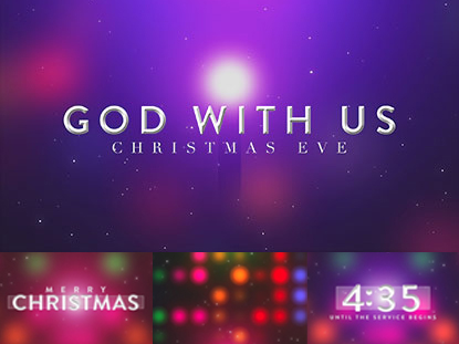 COMPLETE SERVICE PACK: GOD WITH US (CHRISTMAS EVE)