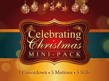 CELEBRATING CHRISTMAS MINI PACK