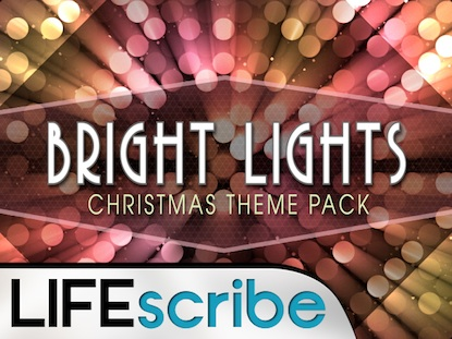 BRIGHT LIGHTS CHRISTMAS THEME PACK