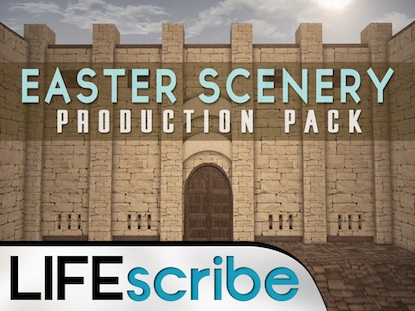 EASTER SCENERY PRODUCTION PACK