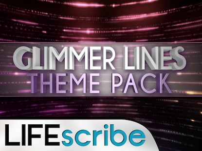 GLIMMER LINES THEME PACK