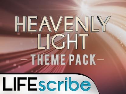 HEAVENLY LIGHT THEME PACK