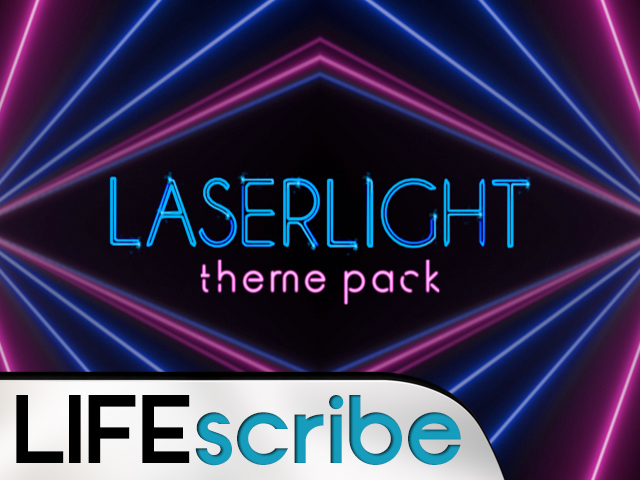 LASERLIGHT THEME PACK
