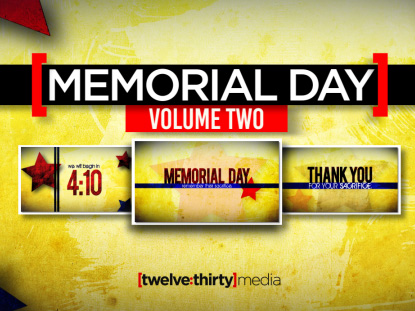 MEMORIAL DAY VOLUME TWO: SERVICE PACK
