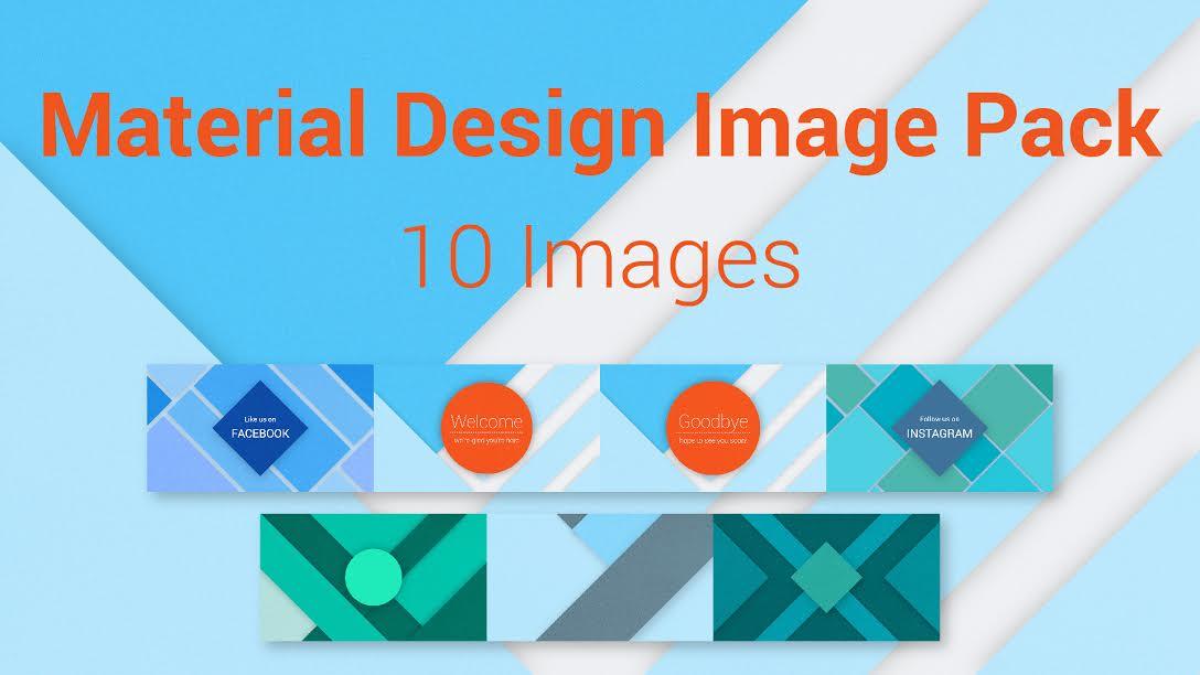 MATERIAL DESIGN IMAGE PACK