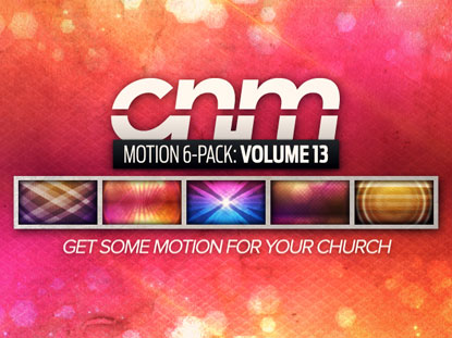 MOTION 6-PACK VOLUME 13