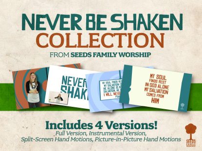 NEVER BE SHAKEN BUNDLE