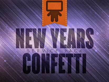 NEW YEARS CONFETTI SERVICE PACK