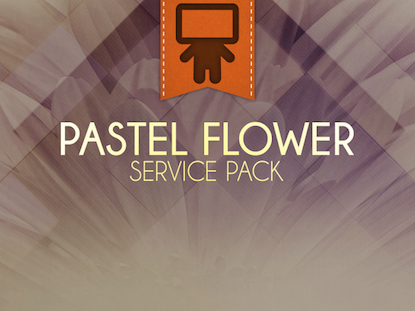 PASTEL FLOWER SERVICE PACK
