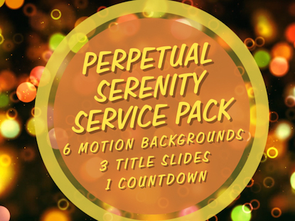 PERPETUAL SERENITY SERVICE PACK