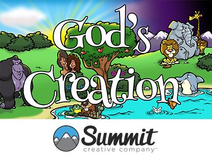 GOD'S CREATION: PRESCHOOL SERIES