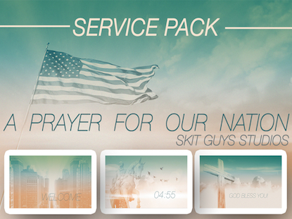 A PRAYER FOR OUR NATION SERVICE PACK