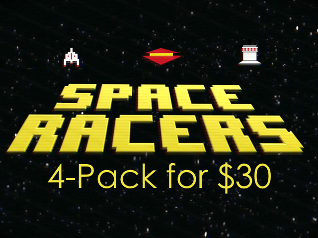 SPACE RACERS 4 PACK