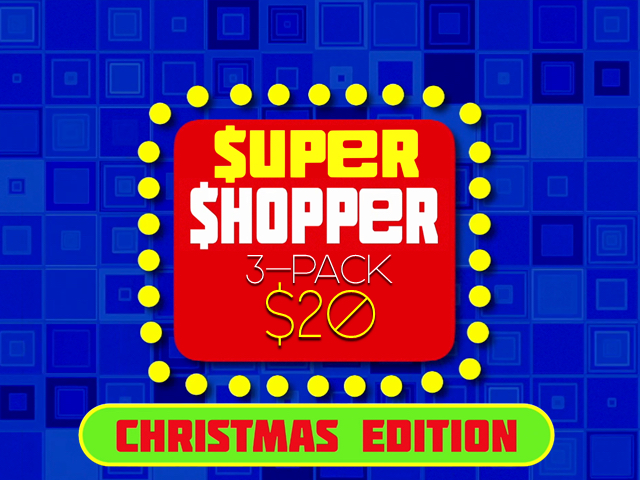 SUPER SHOPPER 3 PACK