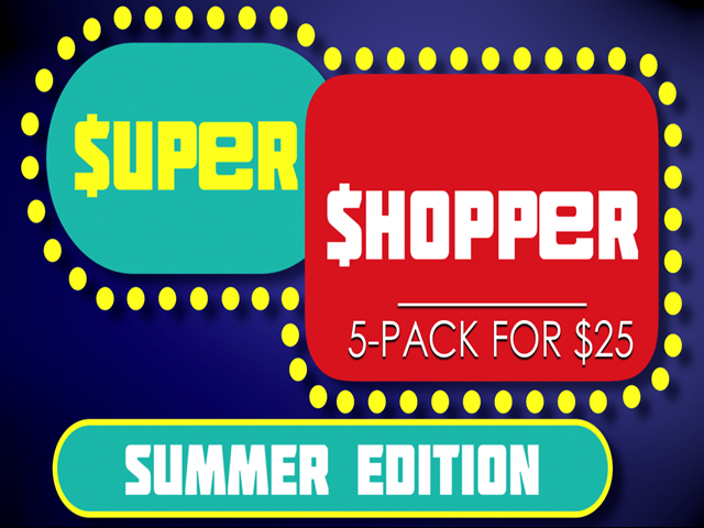 SUPER SHOPPER SUMMER: 5-PACK