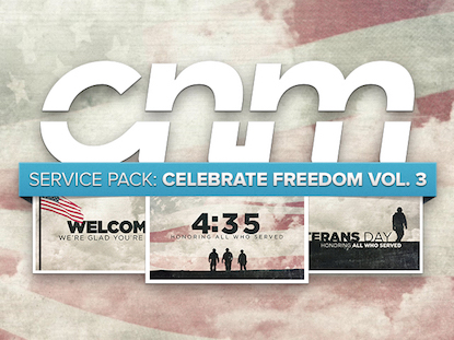 SERVICE PACK: CELEBRATE FREEDOM VOL. 3