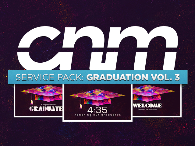 SERVICE PACK: GRADUATION VOL. 3
