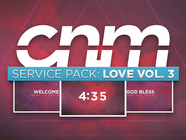 SERVICE PACK: LOVE VOL. 3