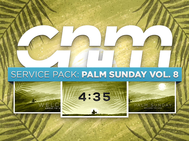 SERVICE PACK: PALM SUNDAY Vol 8