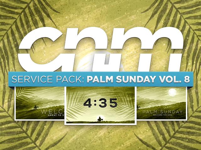 SERVICE PACK: PALM SUNDAY Vol 8