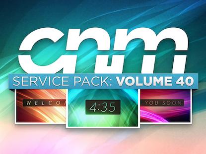 SERVICE PACK: VOLUME 40