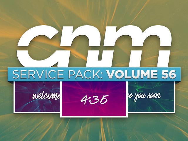 SERVICE PACK: VOLUME 56