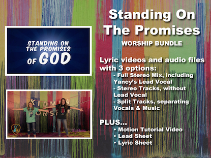 STANDING ON THE PROMISES WORSHIP BUNDLE