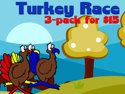 TURKEY RACE 3-PACK