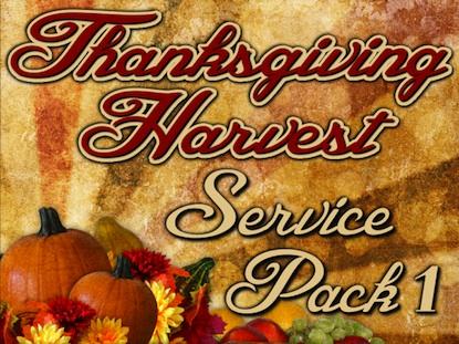 THANKSGIVING HARVEST SERVICE PACK 1