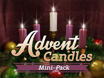 advent candles four hyper pixels media worshiphouse media. Black Bedroom Furniture Sets. Home Design Ideas