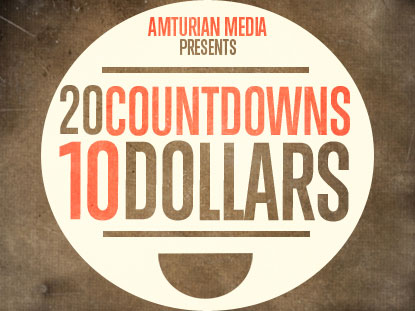 20 COUNTDOWNS FOR 10 DOLLARS