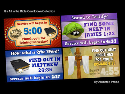 IT'S ALL IN THE BIBLE COUNTDOWN COLLECTION