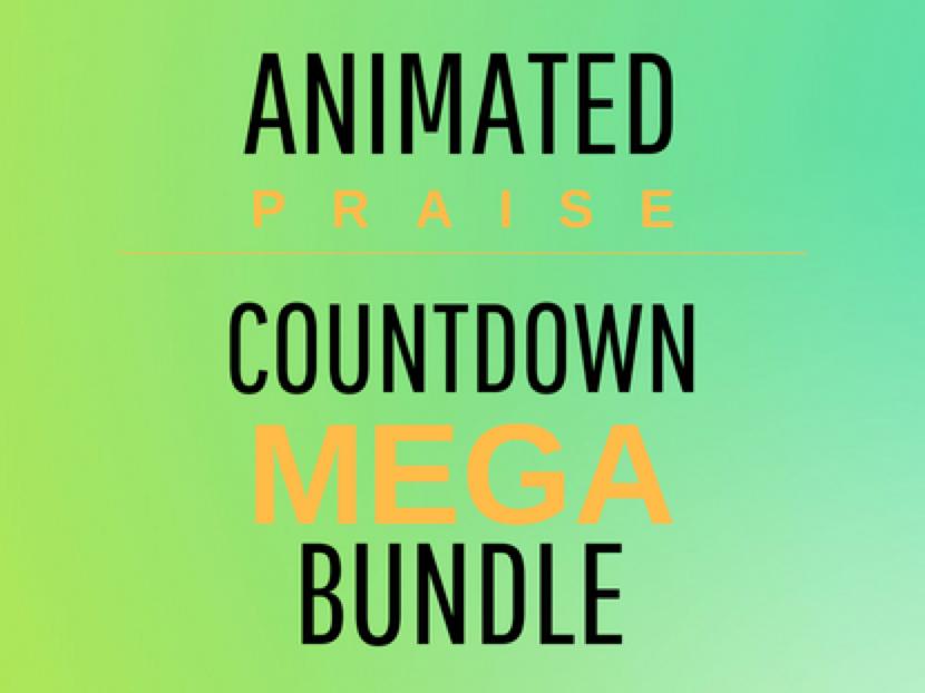 animated praise countdown mega bundle animated praise countdowns