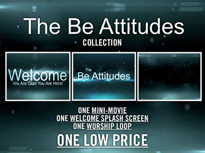 THE BE ATTITUDES MEDIA PACK