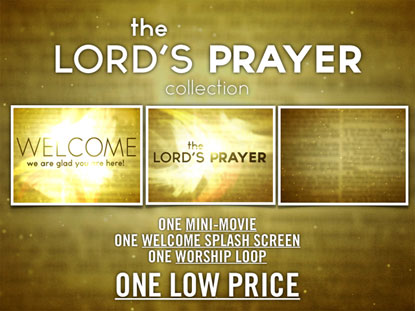 THE LORD'S PRAYER MEDIA PACK