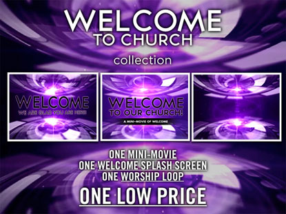 WELCOME TO CHURCH MEDIA PACK