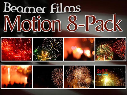 FIREWORKS MOTION 8-PACK
