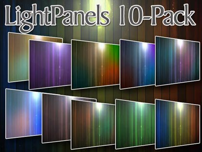 LIGHT PANELS 10-PACK