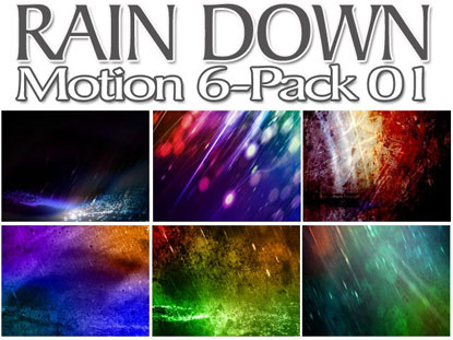 RAIN DOWN MOTION 6 PACK: VOL. 1