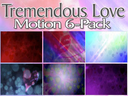 TREMENDOUS LOVE MOTION 6-PACK