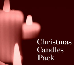 CHRISTMAS CANDLES PACK