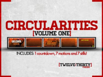 CIRCULARITIES: VOLUME ONE