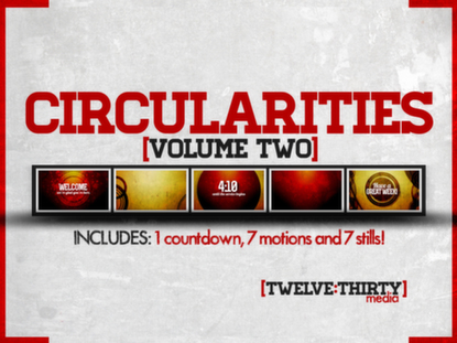 CIRCULARITIES: VOLUME TWO