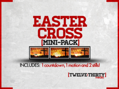EASTER CROSS: MINI PACK
