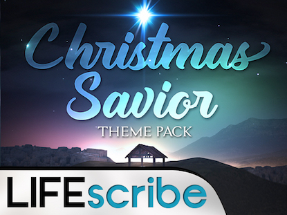 CHRISTMAS SAVIOR THEME PACK