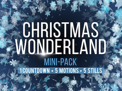 CHRISTMAS WONDERLAND MINI PACK