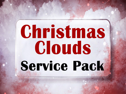 CHRISTMAS CLOUDS SERVICE PACK